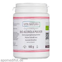 Acerola Pulver Bio, 100 G, Vita Natura GmbH & Co. KG