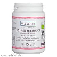 Hagebutten Pulver Bio, 100 G, Vita Natura GmbH & Co. KG