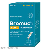 Bromuc akut 600mg Hustenlöser, 20 ST, Aristo Pharma GmbH