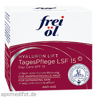 frei öl Anti Age Hyaluron Lift Tagespflege LSF 15, 50 ML, Apotheker Walter Bouhon GmbH