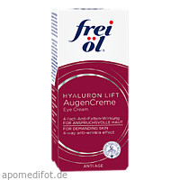 frei öl Anti Age Hyaluron Lift Augencreme, 15 ML, Apotheker Walter Bouhon GmbH