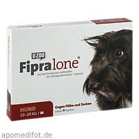 FIPRALONE 134 mg Lsg.z.Auftropf.f.mittelgro.Hunde, 4 ST, O'ZOO GmbH