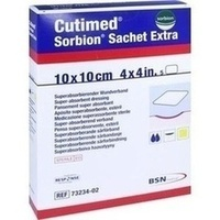 CUTIMED SORBION SACHET EXTRA 10x10cm, 5 ST, Bsn Medical GmbH