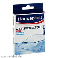 Hansaplast XL Aqua Protect 6x7cm, 5 ST, Beiersdorf AG