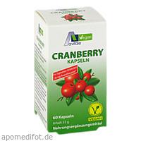 Cranberry Vegan Kapseln 400mg, 60 ST, Avitale GmbH