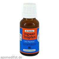 Ingwertropfen m. Thymian Dr.Muches, 20 ML, Dr. Muche GmbH