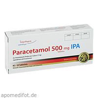 Paracetamol 500mg IPA, 20 ST, Interpharm GmbH