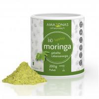 Moringa 100% BIO PUR, 200 G, Amazonas Naturprodukte Handels GmbH