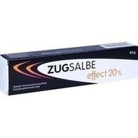 ZUGSALBE effect 20% Salbe, 40 G, INFECTOPHARM Arzn.u.Consilium GmbH
