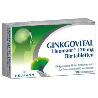 Ginkgovital Heumann 120 mg Filmtabletten, 30 ST, Heumann Pharma GmbH & Co. Generica KG