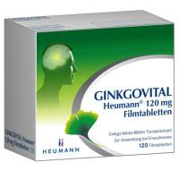 Ginkgovital Heumann 120 mg Filmtabletten, 120 ST, Heumann Pharma GmbH & Co. Generica KG