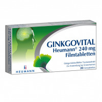 Ginkgovital Heumann 240 mg Filmtabletten, 30 ST, Heumann Pharma GmbH & Co. Generica KG