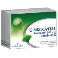 Ginkgovital Heumann 240 mg Filmtabletten, 120 ST, Heumann Pharma GmbH & Co. Generica KG