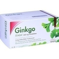 Ginkgo STADA 240MG FTA, 120 ST, STADA Consumer Health Deutschland GmbH