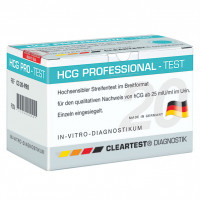 Cleartest HCG Professional, 20 ST, Diaprax GmbH