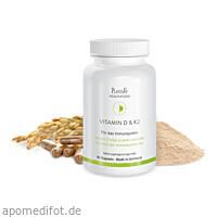 Vitamin D und K2, 60 ST, Plantavis GmbH