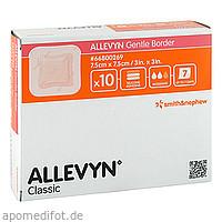 ALLEVYN Gentle Border 7.5x7.5 cm Verband, 10 ST, Tora Pharma GmbH