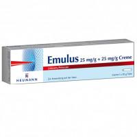 Emulus 25 mg/g + 25 mg/g Creme, 30 G, Heumann Pharma GmbH & Co. Generica KG