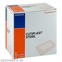 CUTIPLAST steriler Wundverband 8x10 cm, 50 ST, Tora Pharma GmbH