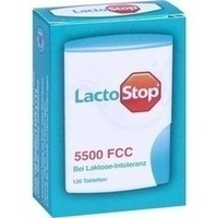 LACTOSTOP 5.500 FCC Tabletten im Klickspender, 120 ST, Hübner Naturarzneimittel GmbH