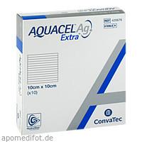 Aquacel AG Extra 10x10cm Kompressen, 10 ST, Emra-Med Arzneimittel GmbH