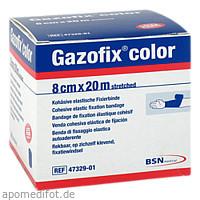 Gazofix color kohäsive Fixierbinde blau 20m x 8cm, 1 ST, Bsn Medical GmbH