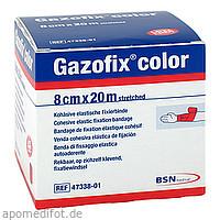 Gazofix color kohäsive Fixierbinde pink 20m x 8cm, 1 ST, Bsn Medical GmbH