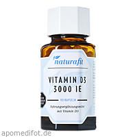 Naturafit Vitamin D3 3000 I.E., 90 ST, Naturafit GmbH