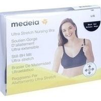 Medela Schwangerschafts- und Still BH L schwarz, 1 ST, MEDELA