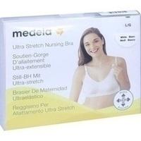 Medela Schwangerschafts- und Still BH L weiß, 1 ST, MEDELA