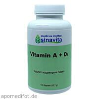 Vitamin A+D, 120 ST, Medicus Institut Sinavita