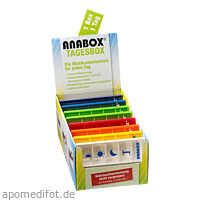 ANABOX Tagesbox bunt Pikto, 1 ST, Wepa Apothekenbedarf GmbH & Co. KG