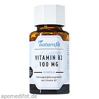 Naturafit Vitamin B2 100mg, 90 ST, Naturafit GmbH