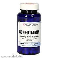 BENFOTIAMIN 100mg GPH Kapseln, 90 ST, Leitner Lifecare GmbH