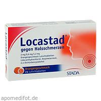 Locastad gegen Halsschmerzen Orange, 24 ST, STADA Consumer Health Deutschland GmbH