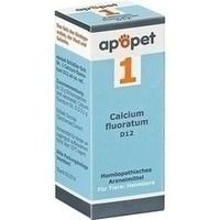 APOPET Schüßler-Salz Nr.1 Calcium fluor.D 12 vet., 12 G, Orthim KG