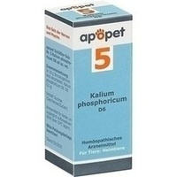 APOPET Schüßler-Salz Nr.5 Kalium phos.D 6 vet., 12 G, Orthim KG