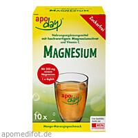 Apoday Magnesium Mango-Maracuja zuckerfrei Pulver, 10X4.5 G, Wepa Apothekenbedarf GmbH & Co. KG