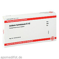 ACIDUM FORMICICUM D12 AMPULLEN, 8X1 ML, Dhu-Arzneimittel GmbH & Co. KG