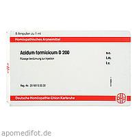 ACIDUM FORMICICUM D200 AMPULLEN, 8X1 ML, Dhu-Arzneimittel GmbH & Co. KG