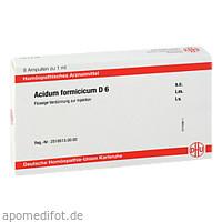 ACIDUM FORMICICUM D6 AMPULLEN, 8X1 ML, Dhu-Arzneimittel GmbH & Co. KG