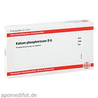 KALIUM PHOSPHORICUM D6 AMPULLEN, 8X1 ML, Dhu-Arzneimittel GmbH & Co. KG