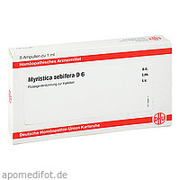 MYRISTICA SEBIFERA D6 AMPULLEN, 8X1 ML, Dhu-Arzneimittel GmbH & Co. KG