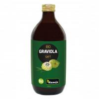 Bio Graviola (Guanabana) Püree Glasflasche, 500 ML, shanab pharma e.U.