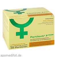 Fertilovit F PCOS 60 Kapseln + 30 Pulver-Sticks, 1 P, Gonadosan Distribution GmbH