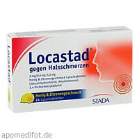 Locastad gegen Halsschmerzen Honig-Zitrone, 24 ST, STADA Consumer Health Deutschland GmbH