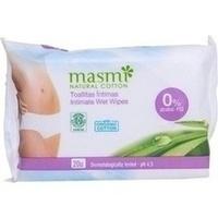 Bio Intimpflegetücher 100% Bio Baumwolle MASMI, 20 ST, Don Dandrea Deutschland AG
