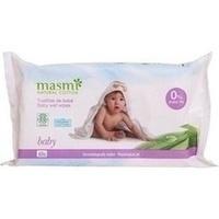 Bio Feuchttücher Baby 100% Bio Baumwolle MASMI, 60 ST, Don Dandrea Deutschland AG