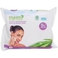 Bio Make-Up Reinigungstücher 100% Baumwolle MASMI, 20 ST, Don Dandrea Deutschland AG