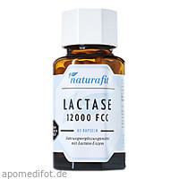 Naturafit Lactase 12000 FCC, 60 ST, Naturafit GmbH